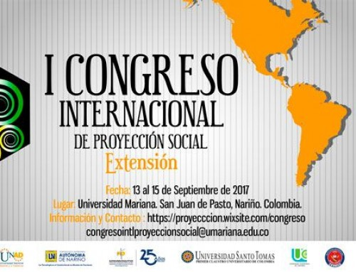 I Congreso Internacional de Proyección Social
